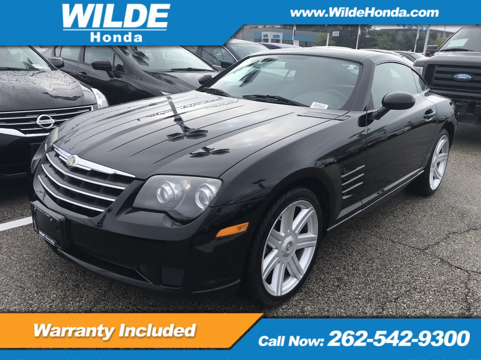 Pre-Owned 2006 Chrysler Crossfire 2DR CPE