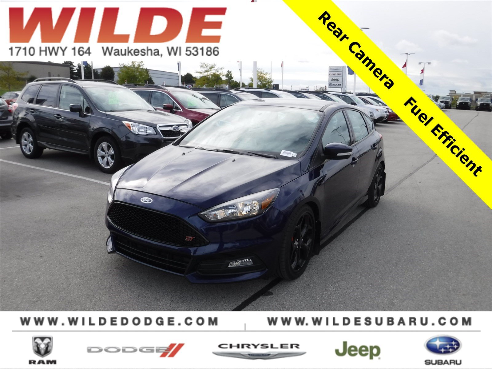 Pre owned 2017 ford focus st