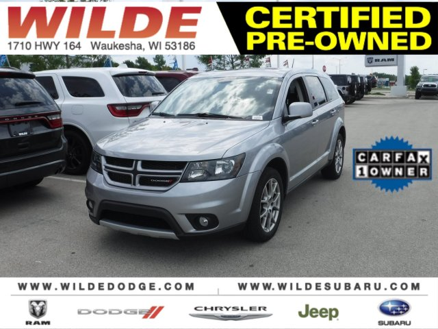 Dodge Suv 2016 >> Certified Pre Owned 2016 Dodge Journey R T With Navigation Awd
