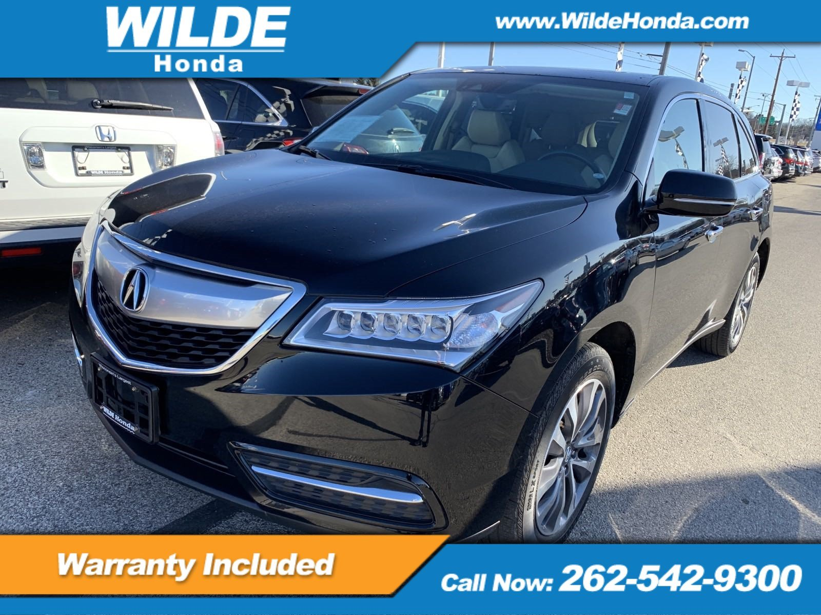 Pre Owned 2016 Acura Mdx W Tech