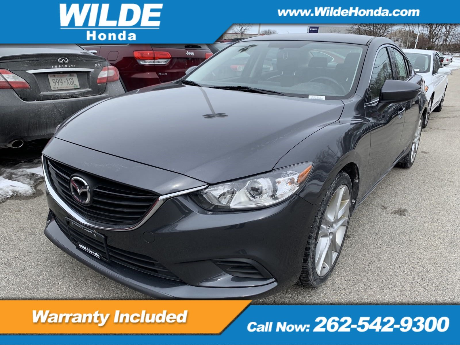 Pre Owned 2016 Mazda6 I Touring